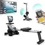 Bluefin Fitness Blade zusammenklappbares Rudergerät für Dein Heim-Gym | Rudergerät mit...