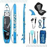 Bluefin Cruise SUP Board Set | Aufblasbares Stand Up Paddle Board | 6 Zoll Dick | Fiberglas Paddel |...