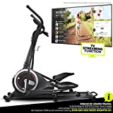 Sportstech Crosstrainer für zuhause | Ellipsentrainer mit Video Events & Multiplayer APP | 24 kg...