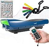 skandika 4D Vibrationsplatte V3000   Vibration Plate im Curved Design mit Smart LED Technologie,...