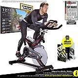 Sportstech Profi Indoor Cycle SX400 –Deutsche Qualitätsmarke-mit Video Events & Multiplayer APP,...